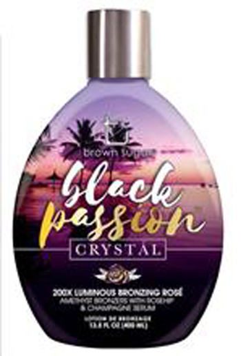 *NEW* Black Passion Crystal   (200X Bronzer)     64 oz 1206504