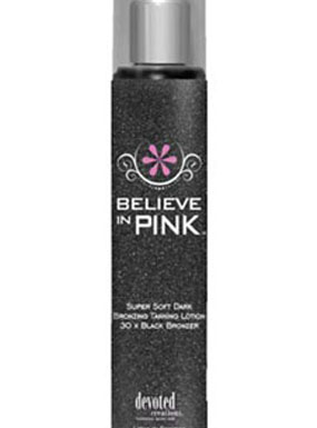 Believe in Pink Black DVB07